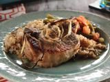Picture of Pork Chops and Rice Recipe