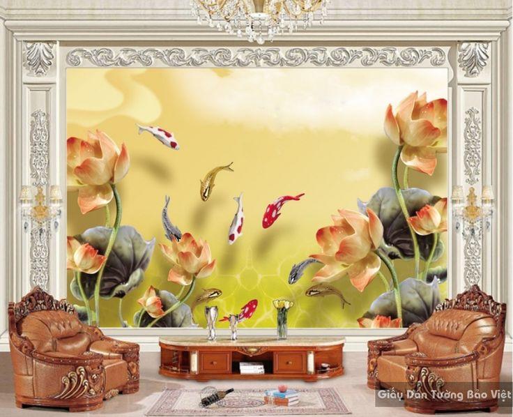 Giấy dán tường phòng khách k15049288 | Giấy dán tường Bảo Việt