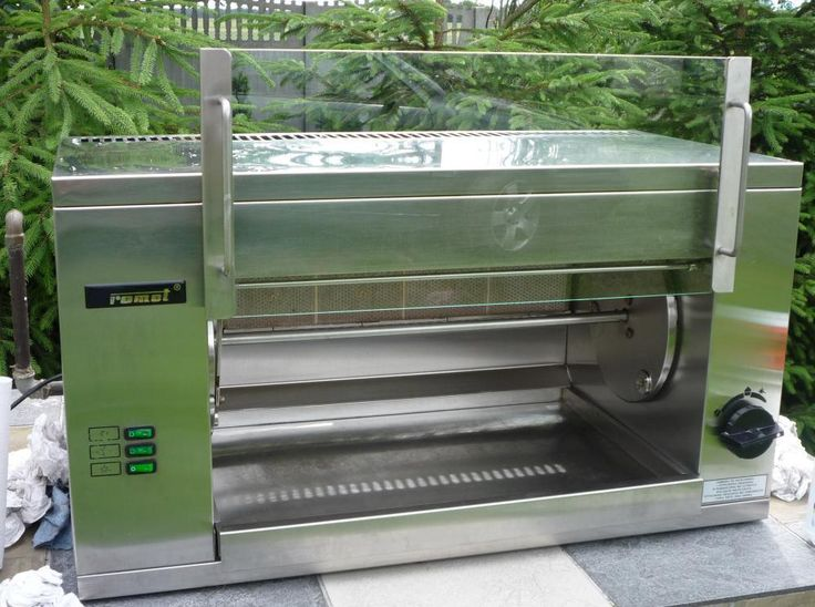 Commercial-Catering - 9 Chicken Natural GAS Rotisserie Oven RollerGrill Barbecue…