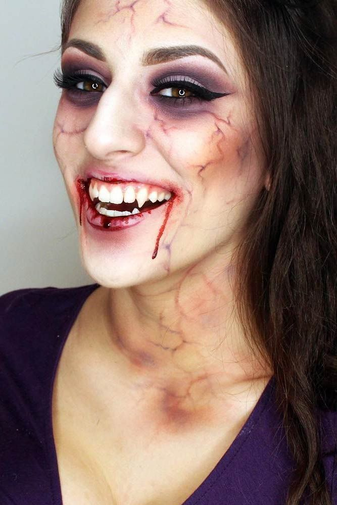 Best 25 Halloween Makeup Vampire Ideas On Pinterest