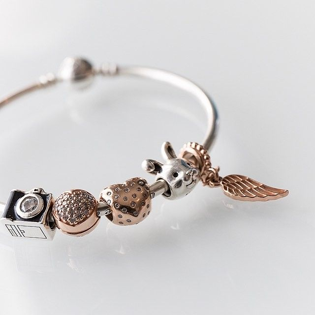 My gorgeous Pandora bracelet. I love how I've customised this to represent my business <3 I don't wear much jewellery, but what I do wear is meaningful. www.littlebrownrabbit.net