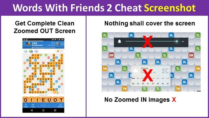 Words with Friends 2 Cheat Screenshot Guide 2018 Words