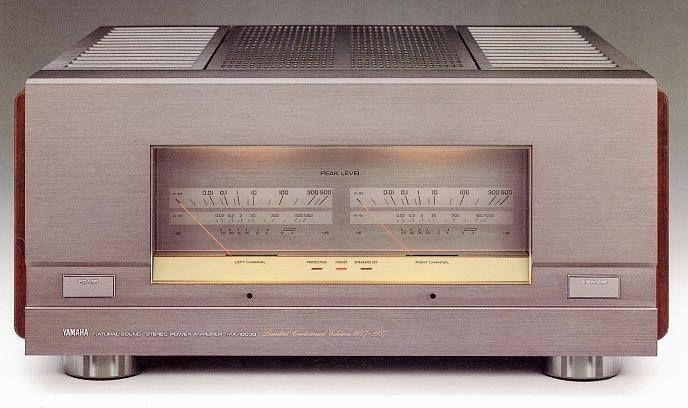 YAMAHA MX-10000 (1987) 250 w por canal em 8ohms