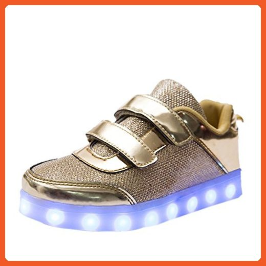 DoGee Light Up Shoes For Girls Boys 7 Colors Light Kids Toddler Shoes Boys LED Tennis Shoes Chargeable Flashing Trainers - Sneakers for women (*Amazon Partner-Link)