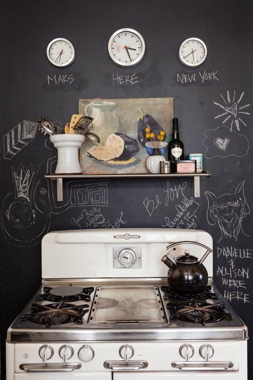 Chalkboard -★- kitchen