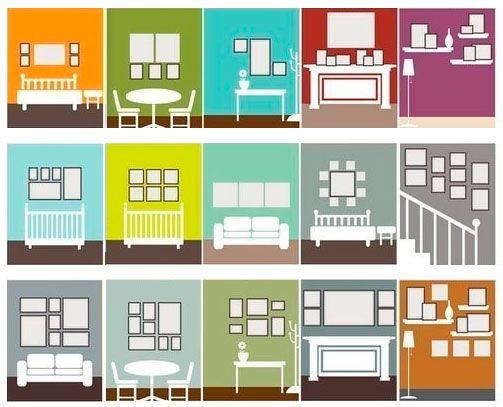 Креативни идеи за стенен дизайн на снимки   Fashion Inside