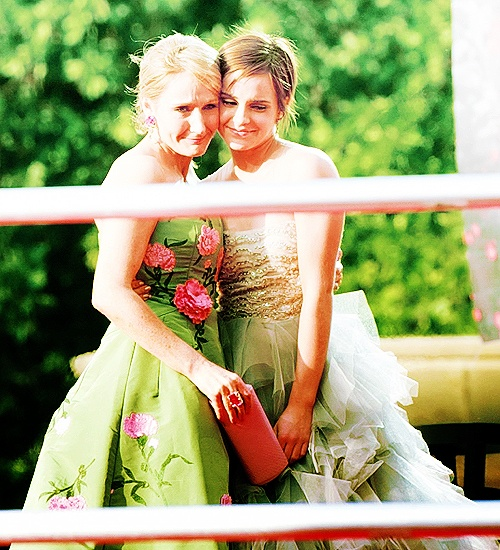 """She's like my daughter"" -J.k. Rowling on Emma Watson. Love both of these women for their genius and their beauty."