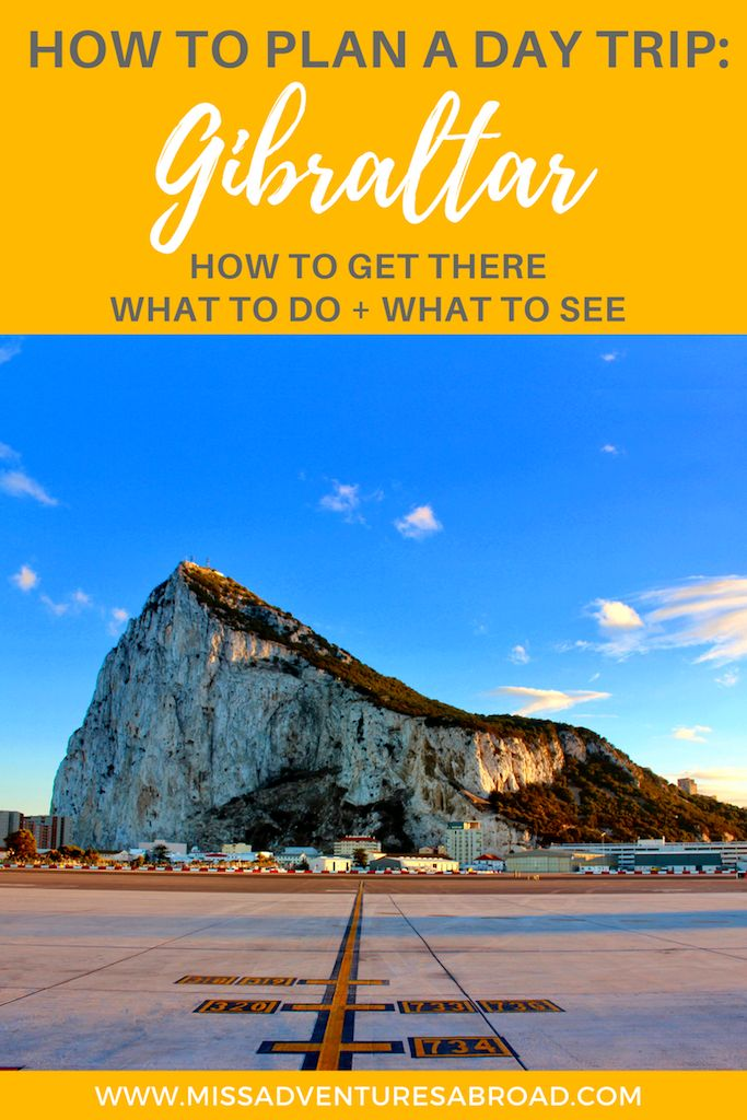 Visiting Gibraltar: Everything You Need To Know To Plan a Perfect Day Trip · If you are heading to the south of Spain, you may want to plan a day trip to amazing Gibraltar! Here is everything you need to know about crossing the border, what there is to do in Gibraltar, and visiting the Rock of Gibraltar! You'll see Barbary monkeys, the top of the rock, St. Michael's Cave and more.
