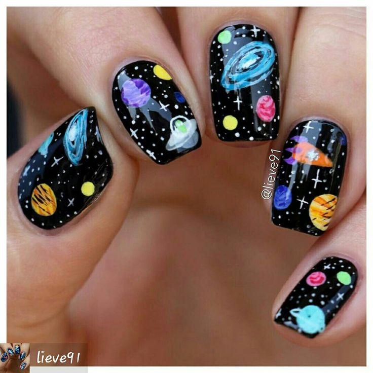 BY #LIEVE91 #planets#coolnails#nailartdiy#nails #nailart#nailartist #naildesigns #diy#diynailart#nailvids#nailpics #nailinspiration #nailartpics#nailworld #nailvine #nailsgalore #nailpage#nailartboard#nailboard#polish#nailpolish #polishboards#nailboards#nails2inspire #artonna#space#outerspace