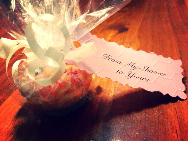 Baby Shower favours, mini soap cupcakes