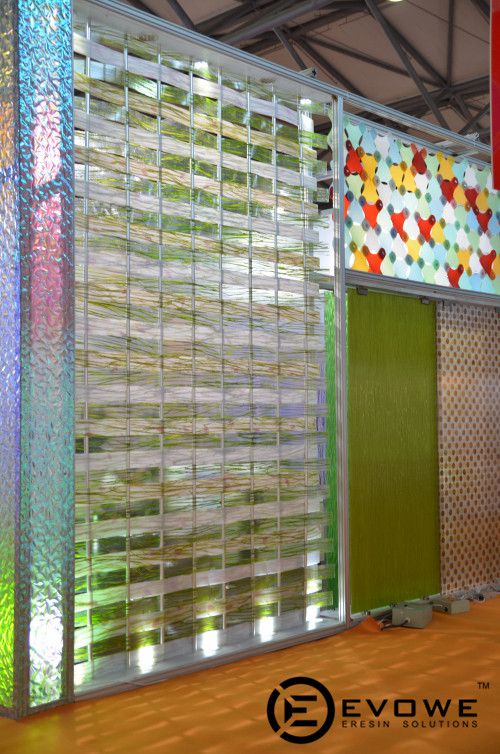 Translucent Resin Panels : Best images about luxface design expo on pinterest