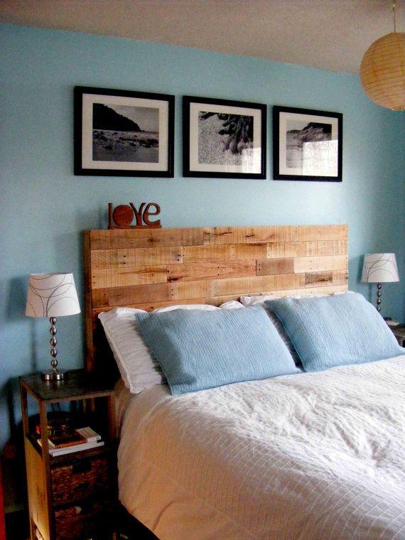 17 Best Ideas About Wood Pallet Headboards On Pinterest