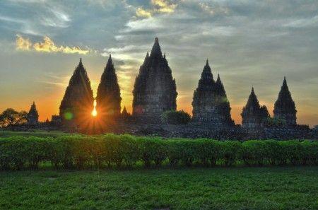 By Endry Burhanuddin: Prambanan temple near Yogyakarta - Indonesia.