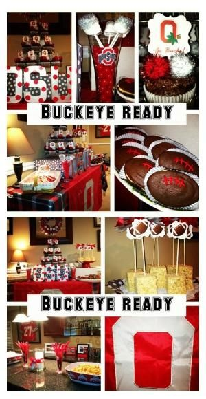 Ohio State University party ideas | Charming Touch Parties by carmen