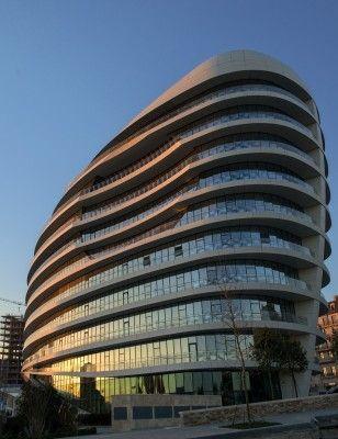 Baku White City Office Building by Atkins