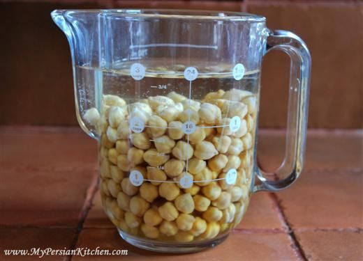 how to quick soak chickpea garbanzo beans | Food ...