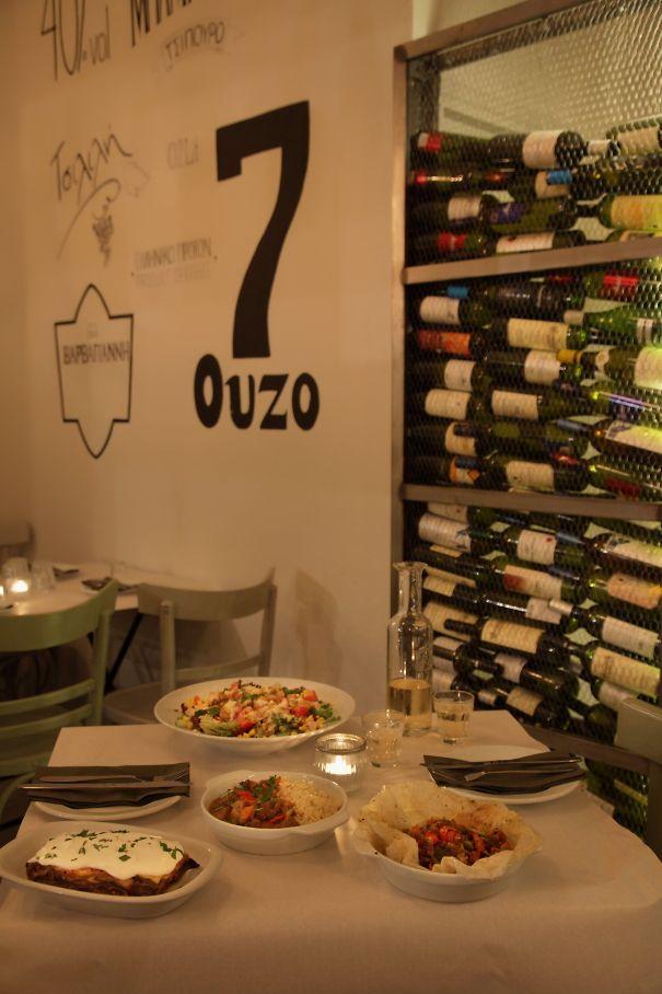 Greek-kitchen restaurant /  Athens Greece /  interior designer Sissy Raptopoulou
