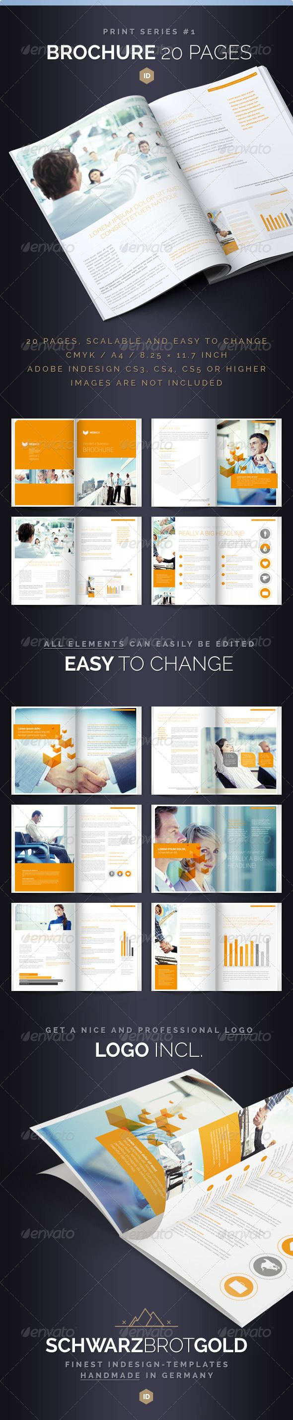 Brochure 20 Pages Series 1 - Corporate Brochures