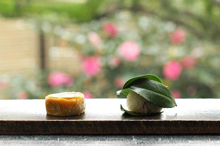 HIGASHIYA 侘助 南瓜餅