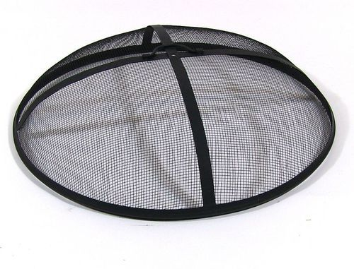 A Fire Pit Screen is a must have accessories for wood burning fire pits, it may even by required by the local Fire Codes
