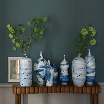 Engelska Tapetmagasinet - färg - Farrow and Ball - Inchyra Blue 289 - matt
