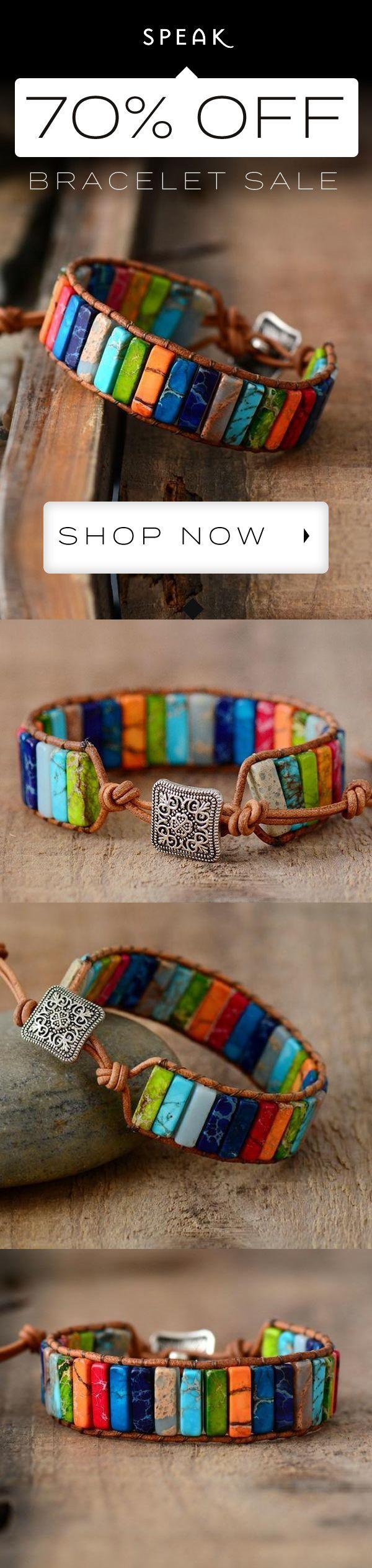 Lapis – Jasper Stone Bracelet