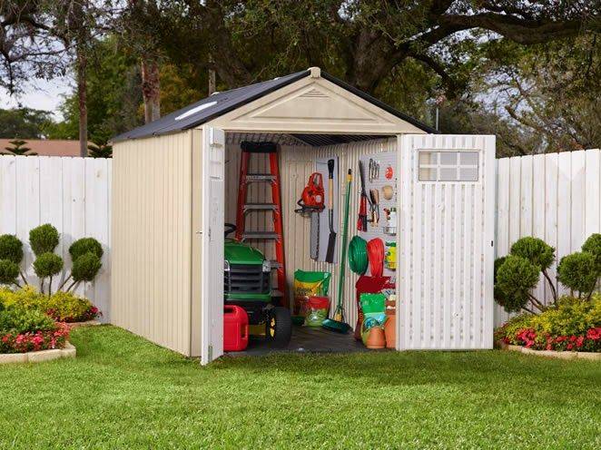 The Large Rubbermaid Storage Shed Design photo
