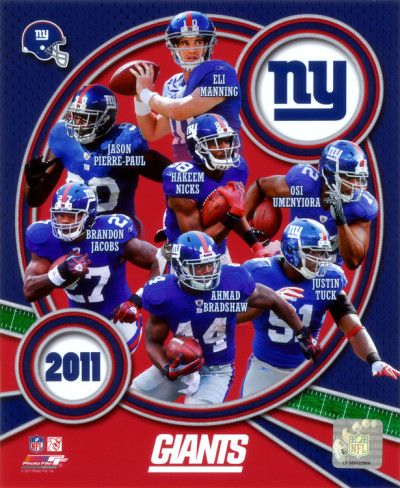 new york giants 2011 team composite