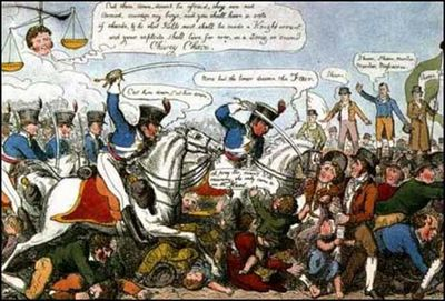 English Historical Fiction Authors: The Peterloo Massacre