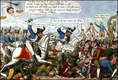 English Historical Fiction Authors: The Peterloo Massacre