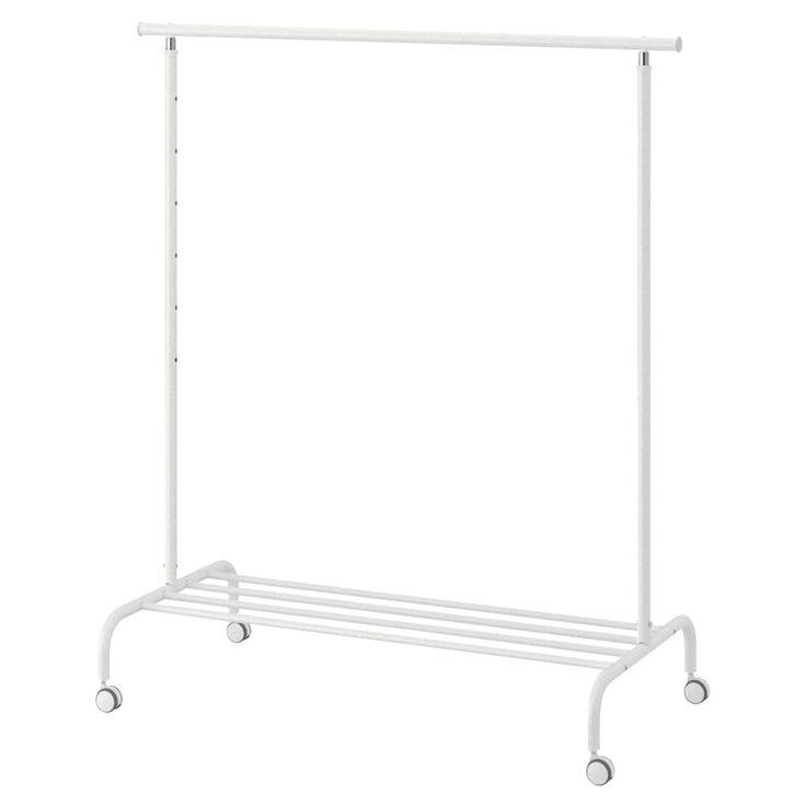 rigga clothes rack white ikea in 2021