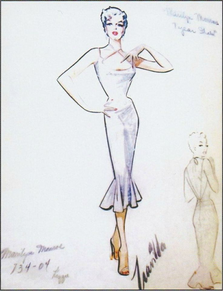 16 best images about MARILYN MONROE - TRAVILLA COSTUMES on ...