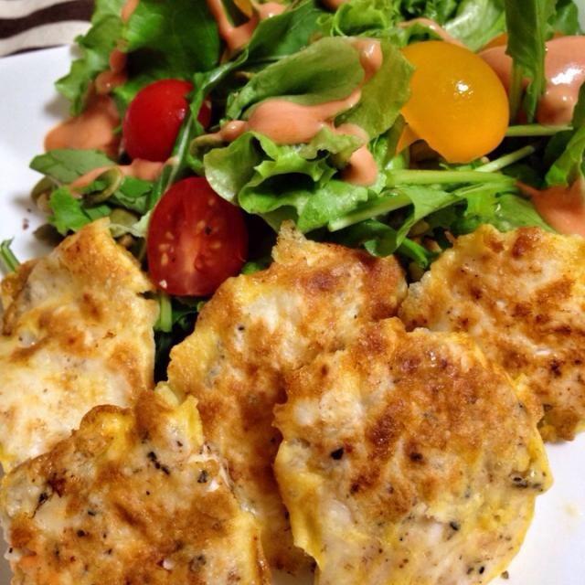 簡単で美味しいピカタ、一口サイズだとお弁当のおかずにもなるので大助かりだー(´∀`).。.:*・゚☆ - 162件のもぐもぐ - 鶏肉のピカタ by とかげ_(:3 」∠ )_