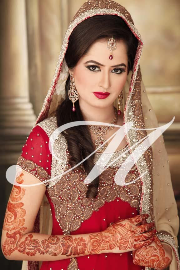 Signature Makeup By Madeeha Maham Pervaiz Looking Stunning In Traditional