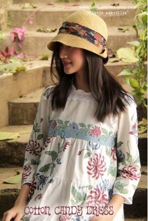 batik amarillis's cotton candy dress