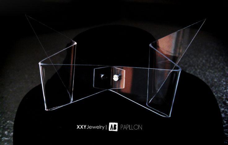 Transparent XXY Papillon  http://www.facebook.com/xxyjewelry