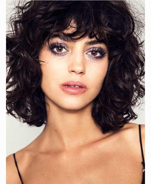 15 Bilder Kurze Locken Frisuren Fur Damen Bilder Damen