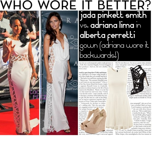 """""""Who wore it better?"""" by mara-petcana ❤ liked on Polyvore"""