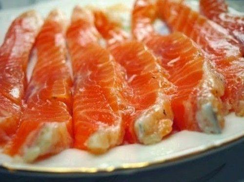 Соленая красная рыба Домашняя. Просто и очень вкусно