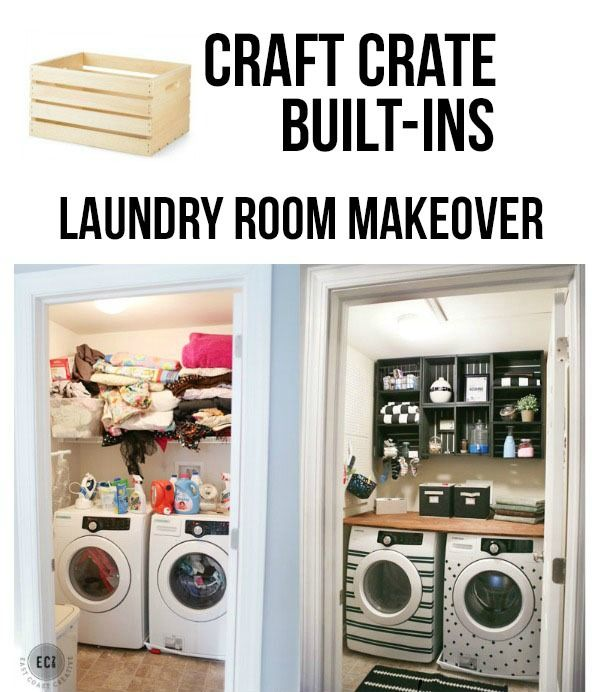 Washer and Dryer Facelift- Laundry Room Makeover