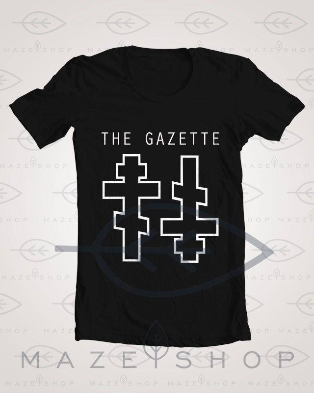 The Gazette Malum T Shirt One ok Rock Girugamesh Babymetal SUG Diura KRA Deluhi #Handmade #BasicTee
