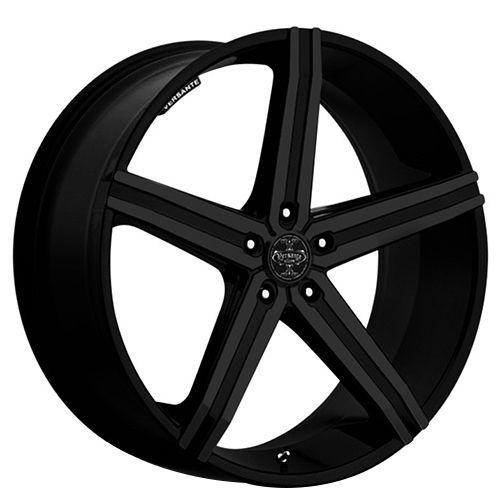 "20x8.5"" Versante Wheels VE228 Matte Black Rims"