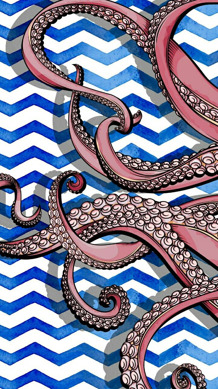 Lily Pulitzer nautical pattern octopus and chevron