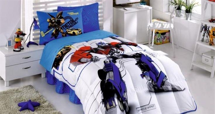 Kristal Transformers Tek Kişilik Lisanslı Uyku Seti | cazip geldi