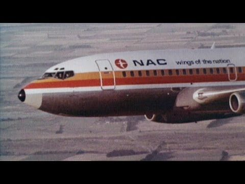 NAC Boeing 737 Airliner Air To Air Film Shoot - YouTube