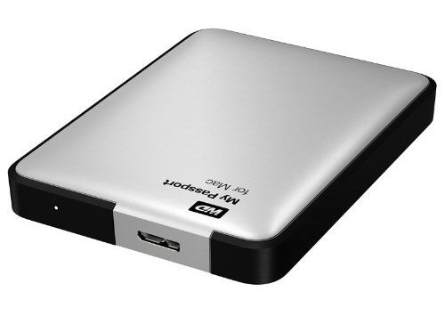 Disco duro externo de 2TB Western Digital My Passport para Mac