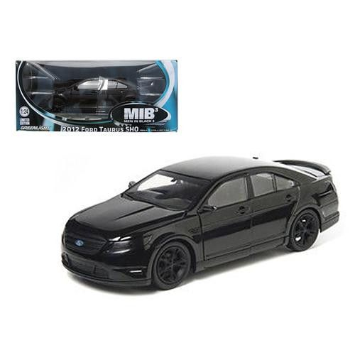 "2012 Ford Taurus SHO ""Men in Black 3"" Modern Agent Car 1/24 Diecast Model Car by Greenlight"