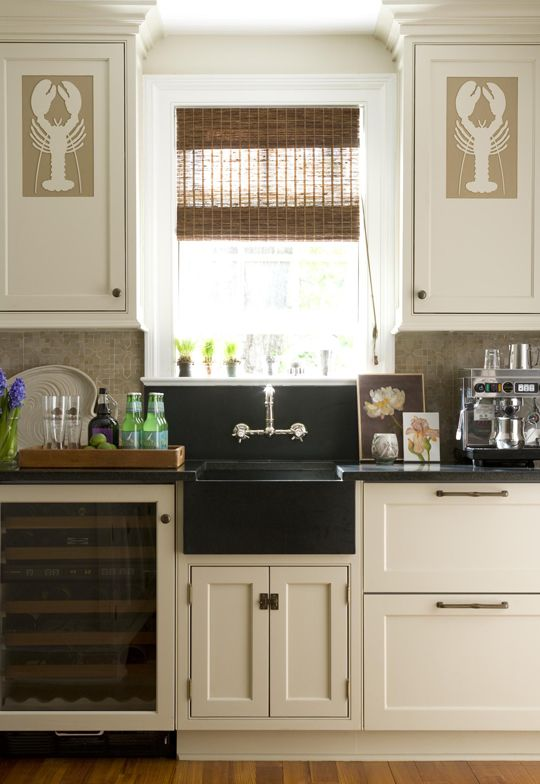 A Symmetrical Arrangement Of Cabinets Provide Plentiful
