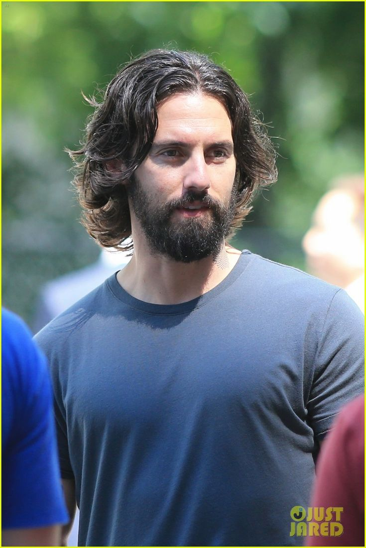 Scruffy Milo Ventimiglia & Lily Rabe Continue Filming 'The Whispers'