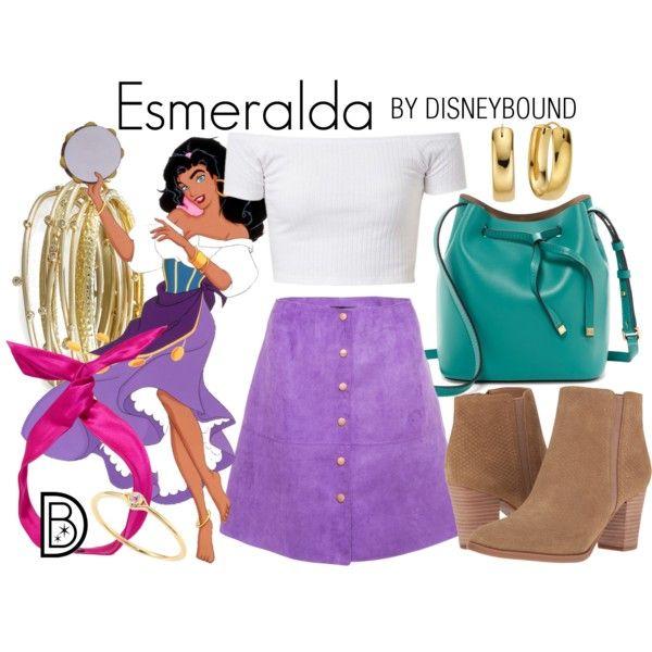 Disney Bound - Esmeralda